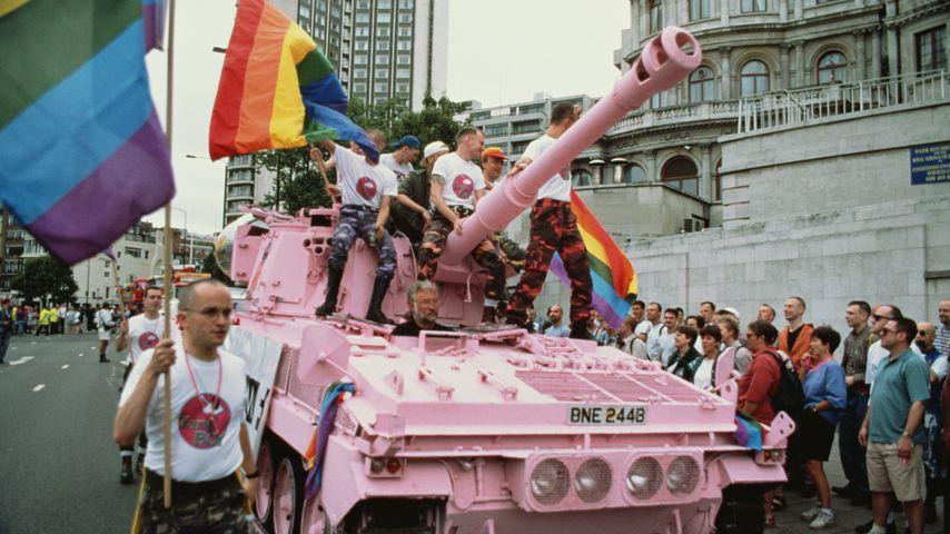 Umzug der LGBT-Bewegung in London, Juni 1995