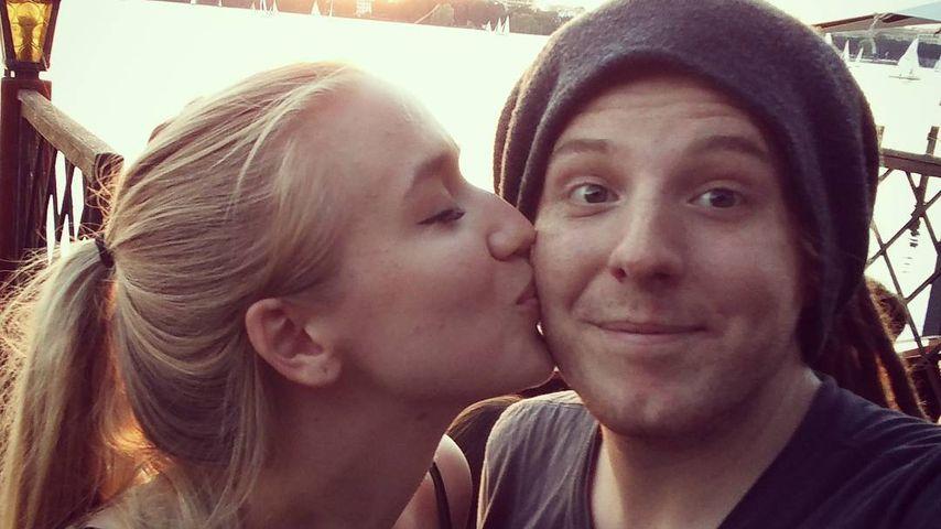 Unge mit Freundin Kathrin in Hamburg
