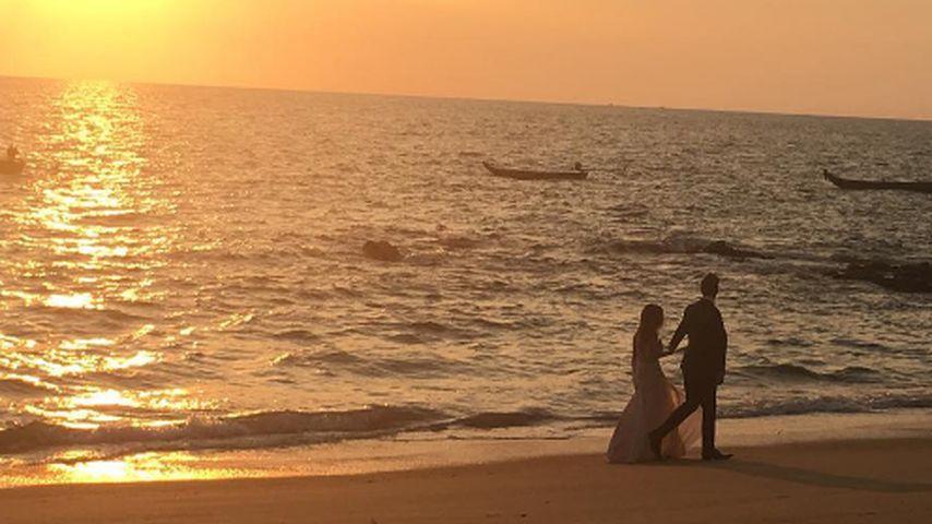 US-Bachelorette Joelle Fletcher und ihr Verlobter Jordan Rodgers