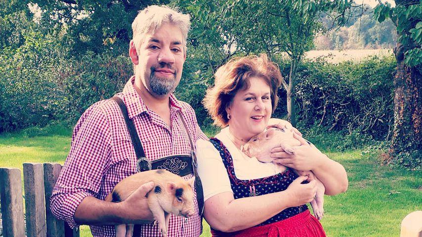 Uwe und Iris Abel, TV-Bauern