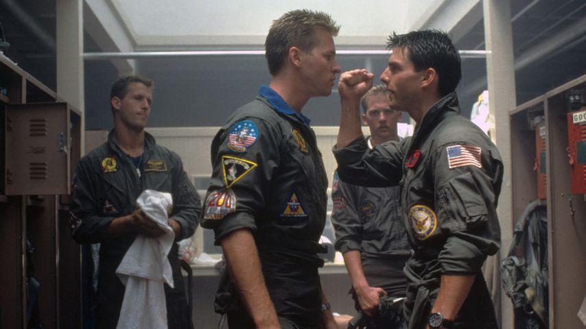 """Val Kilmer und Tom Cruise in """"Top Gun"""""""