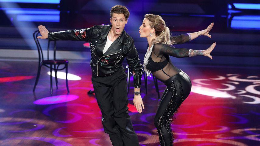 """Valentin Lusin und Charlotte Würdig bei """"Let's Dance"""""""