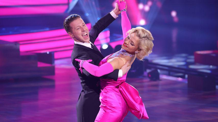 Valentin Lusin und Valentina Pahde bei Let's Dance