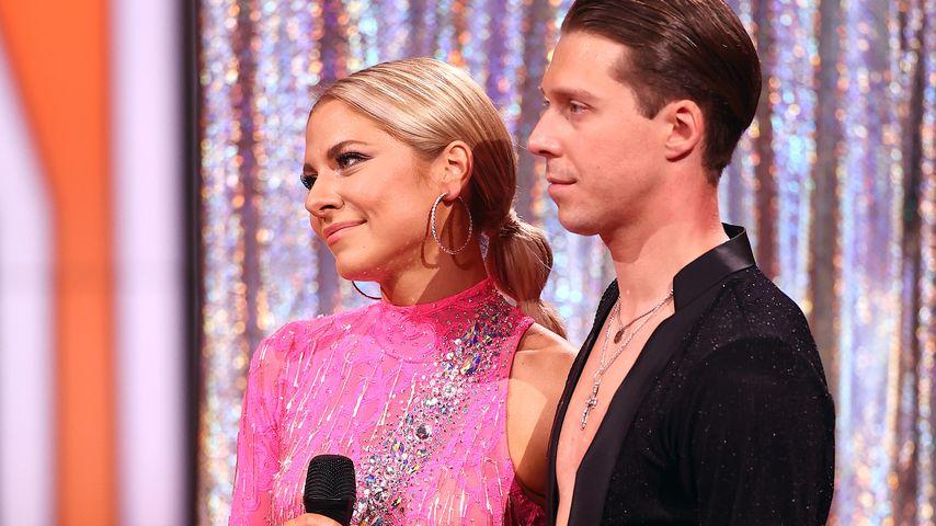 """Valentina Pahde und Valentin Lusin im Halbfinale von """"Let's Dance"""" 2021"""