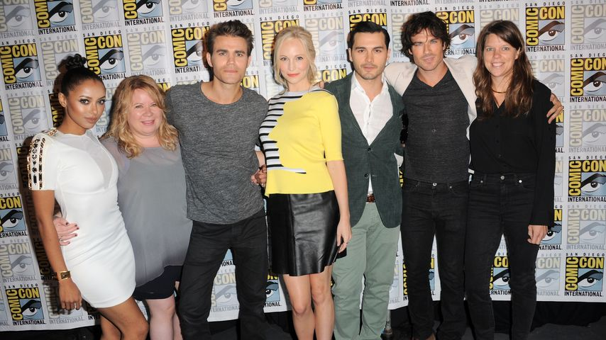Ian Somerhalder, Candice Accola, Paul Wesley und Kat Graham auf der Comic Con 2015