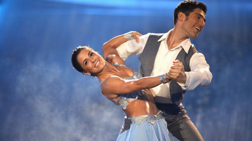 Vanessa Mai und Christian Polanc auf dem Tanzparkett