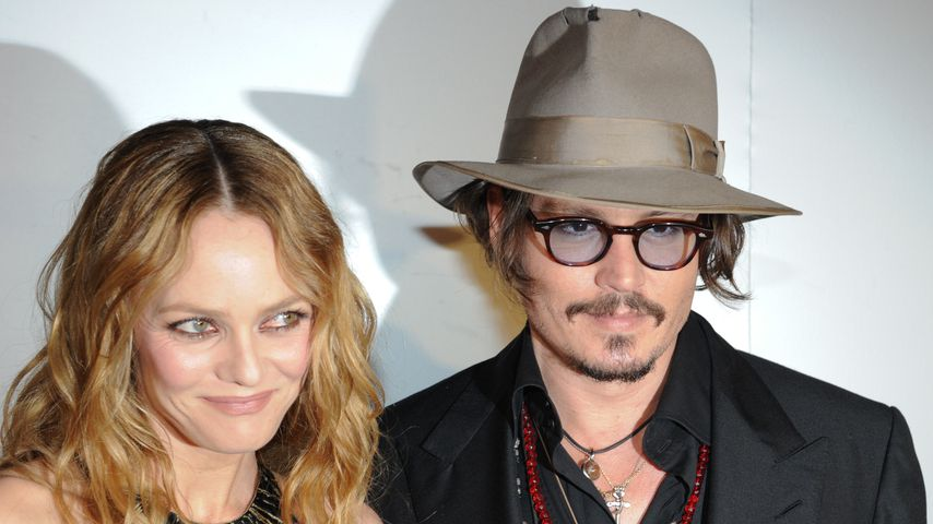Vanessa Paradis und Johnny Depp in Cannes, 2010