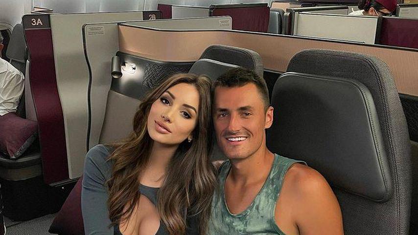 Nach Streit: Bernard Tomic und Vanessa Sierra sind noch Paar