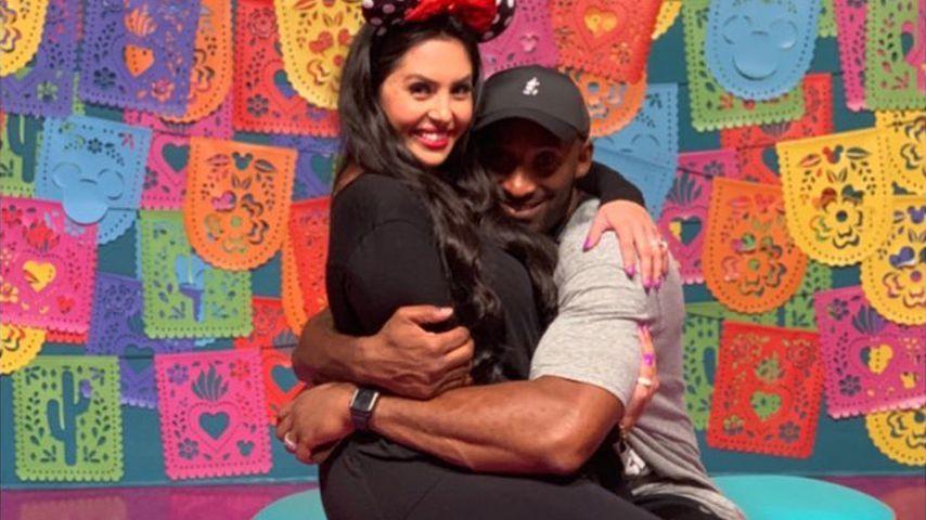 Vanessa und Kobe Bryant, September 2019