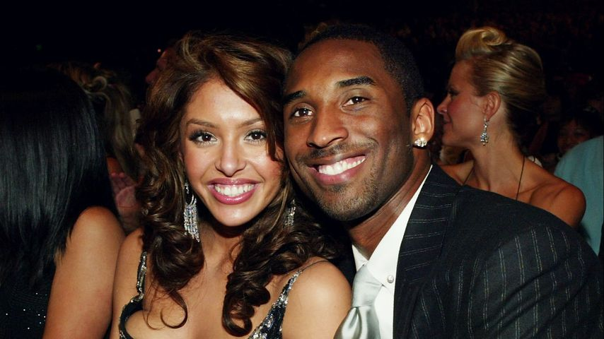 Vanessa und Kobe Bryant im Jahr 2004