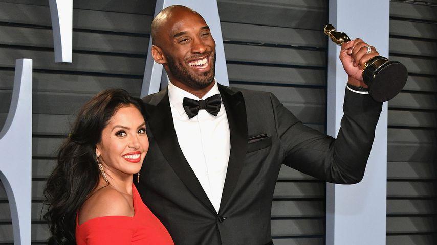 Vanessa und Kobe Bryant im Jahr 2018
