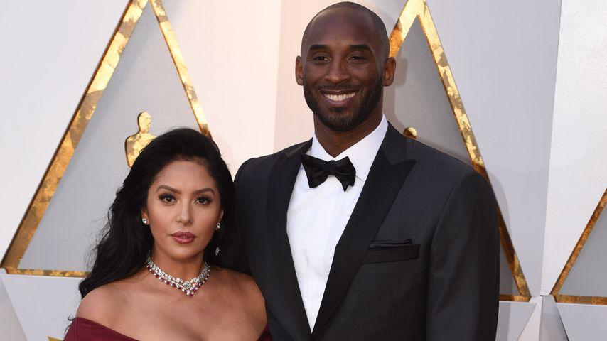 Vanessa und Kobe Bryant, Februar 2018