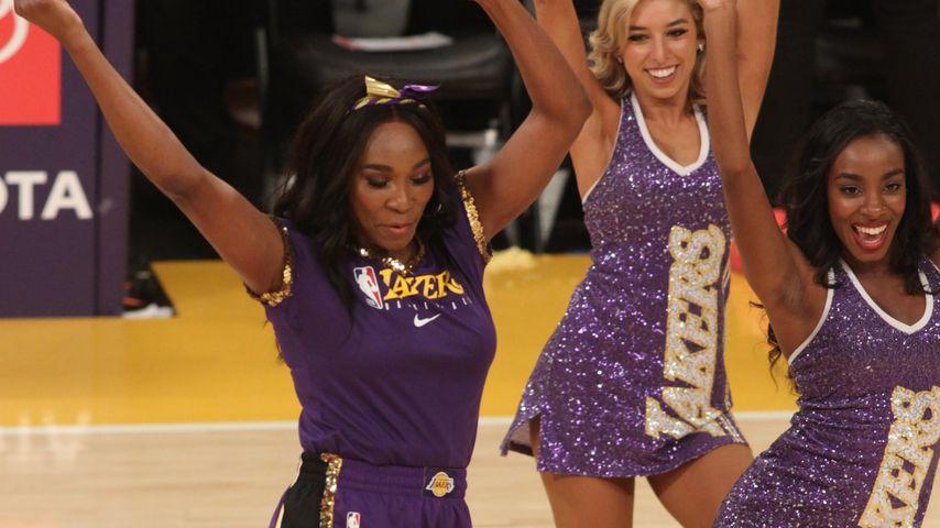 Venus Williams beim Lakers-Spiel im November 2019