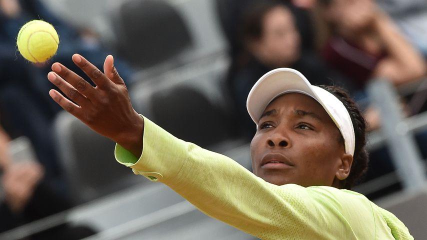 Venus Williams bei einem Tennisspiel im Mai 2019