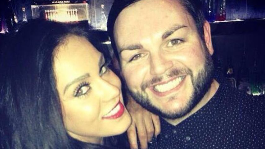 Vicky Pattison mit ihrem BFF Paul Burns