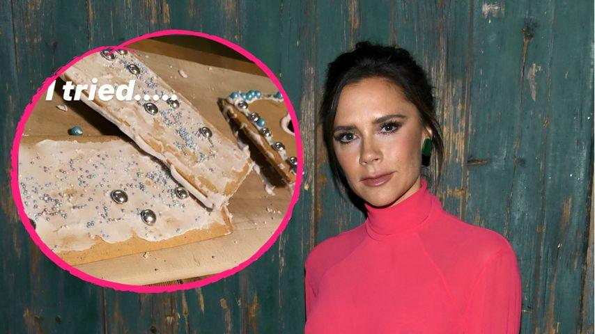 Xmas-Fail: Victoria Beckhams Lebkuchenhaus bricht zusammen