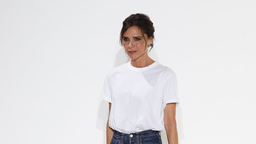 Victoria Beckham bei ihrer Fashion-Show in New York