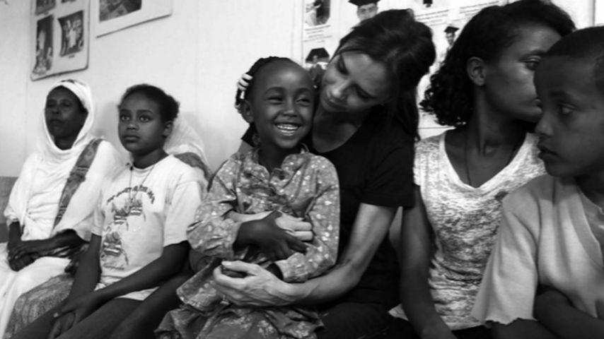 In Äthiopien: Victoria Beckham hilft beim Kampf gegen HIV