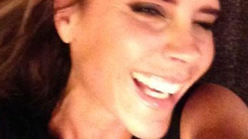 David Beckhams Fotobeweis: Victoria kann lachen!