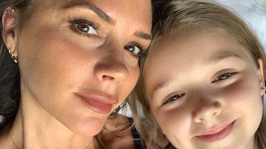 Victoria Beckham mit Tochter Harper Seven, August 2019