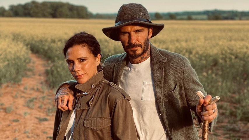 Victoria und David Beckham im Jahr 2020