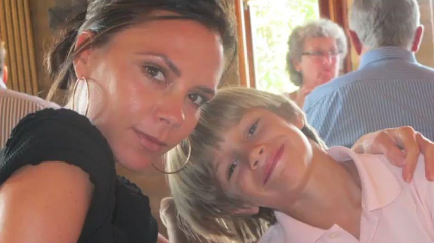 Victoria Beckham und ihr Sohn Romeo