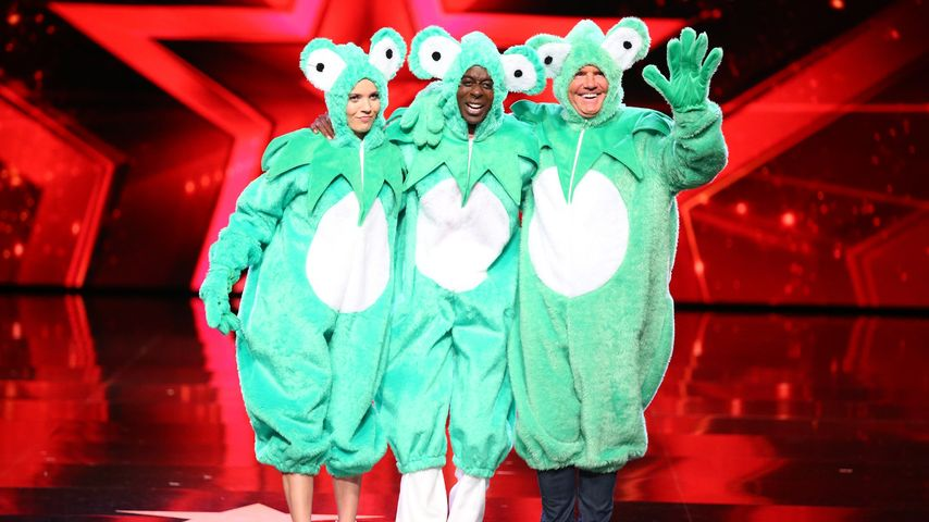 Im Frosch-Kostüm: Verrückter Auftritt der Supertalent-Jury