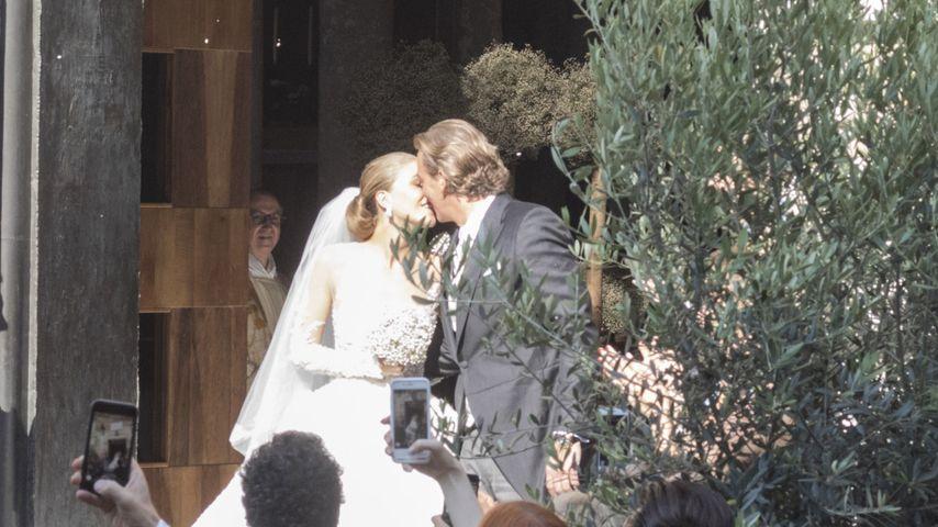 Victoria Swarovski bei ihrer Hochzeit in Triest