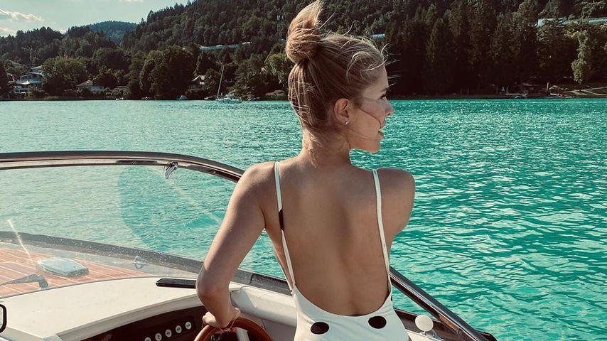 Victoria Swarovski am Wörthersee im Juni 2020