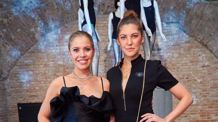 Victoria Swarovski und ihre Schwester Paulina in Wien bei der Calzedonia Night