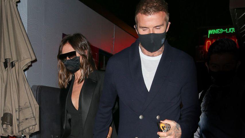 Victoria und David Beckham im Mai 2021