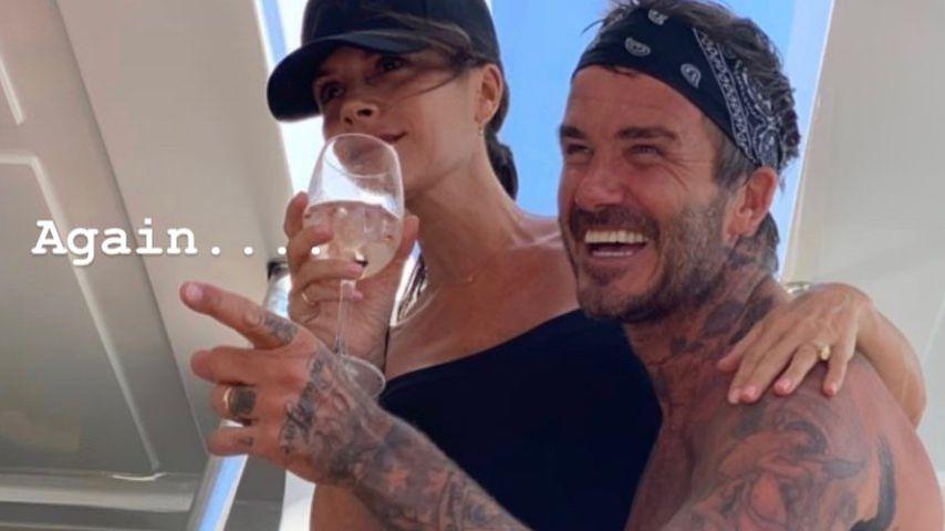 """Ungewohnt """"lustig"""": Victoria Beckham amüsiert ihren David"""