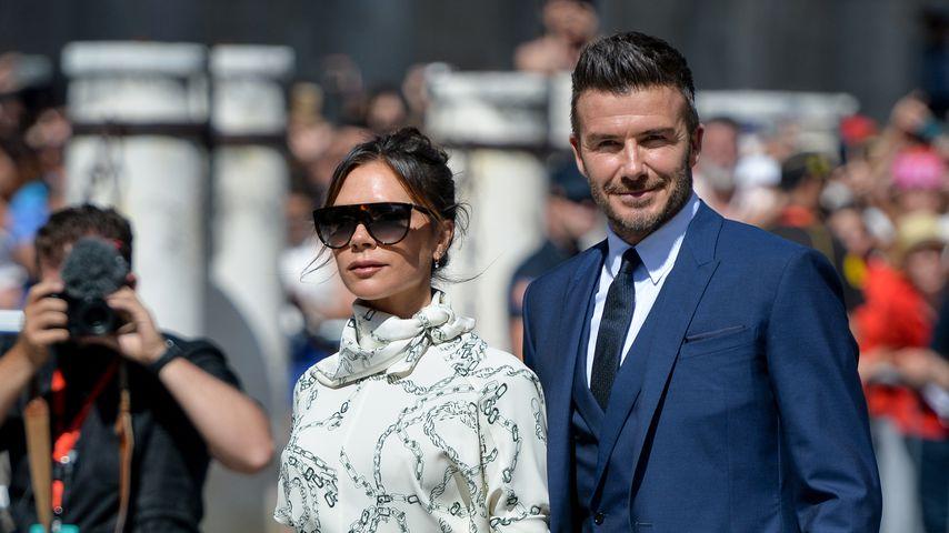 Victoria und David Beckham im Juni 2019