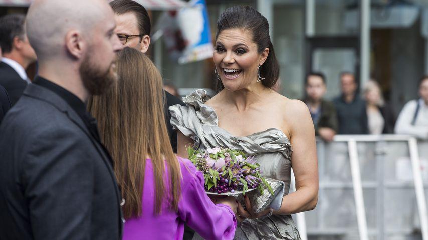 Im Wow-Dress: Victoria von Schweden stiehlt allen die Show!