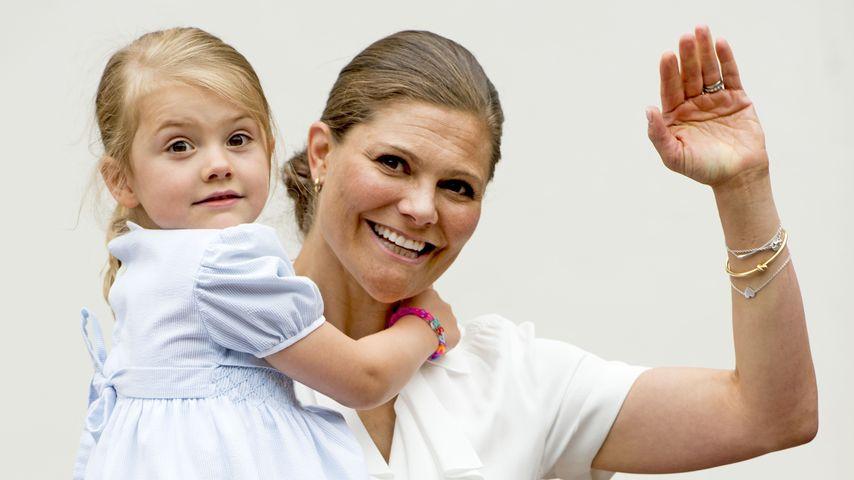 Victoria von Schweden und ihre Tochter Estelle