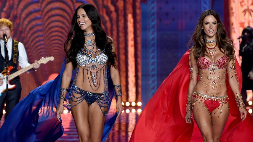 Voilà! Die 1. Bilder der Victoria's Secret-Show!