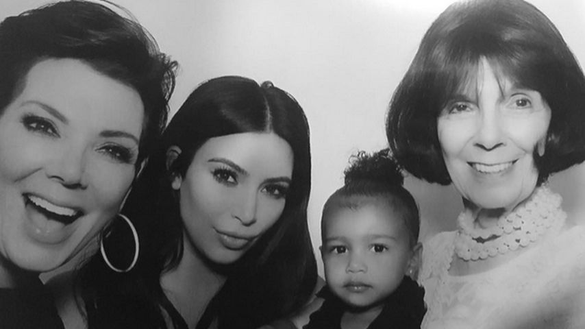 Kim Kardashian, North West und Kris Jenner