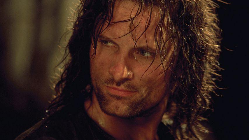 """Viggo Mortensen als Aragorn in """"Der Herr der Ringe"""""""