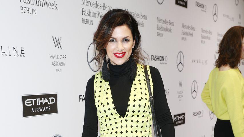 Viktoria Lauterbach auf der Berlin Fashion Week, 2017