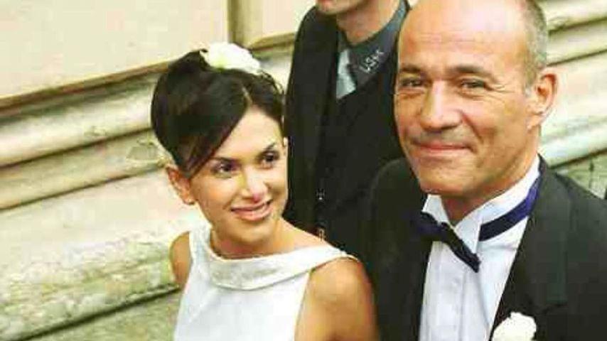 Viktoria und Heiner Lauterbach an ihrem Hochzeitstag