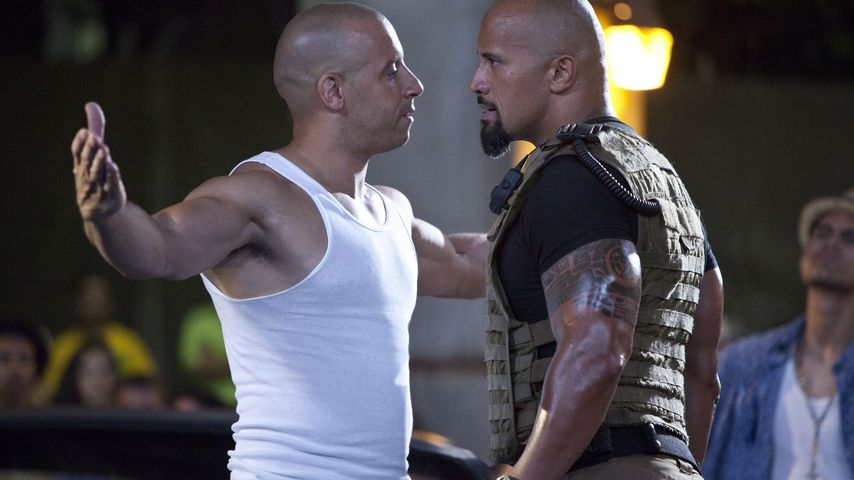 "Vin Diesel und Dwayne ""The Rock"" Johnson in ""Fast & Furious 5"""