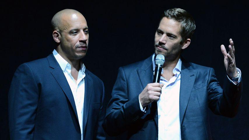 Vin Diesel und Paul Walker bei der Comic-Con 2013
