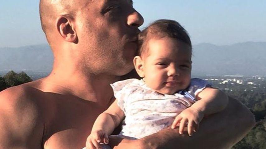 Vin Diesel: So umwerfend ist sein Töchterchen Pauline