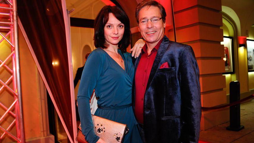 Viola Wedekind mit Ex-Mann Jacques Breuer im Juni 2016