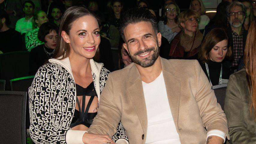 Viviane Ehret-Kleinau und Marc Terenzi im Januar 2019