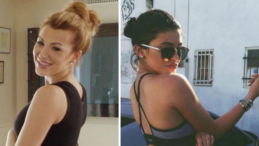 Popo-Vorbild: Vivien Konca will Kylie Jenners Knack-Po