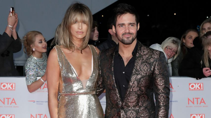 Vogue Williams und Spencer Matthews  bei den National Television Awards 2018