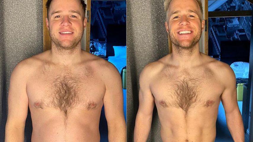 Transformation: So viel hat Olly Murs bereits abgenommen!