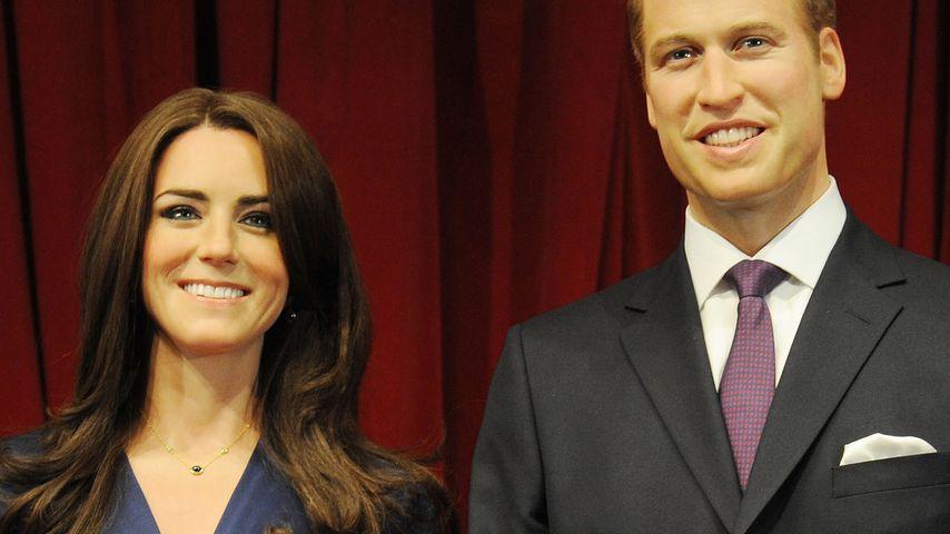 Wachs-Paar: William und Kate jetzt auch in London