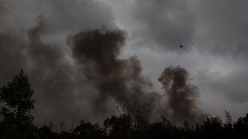 Waldbrand in Australien im Januar 2020